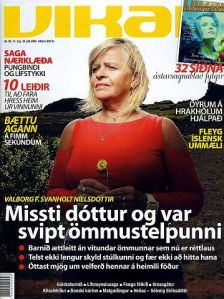 Forsíða tölublaðs Vikunnar sem um ræðir