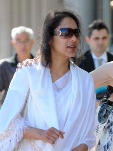 Rajini Narayan kemur til réttarhaldanna